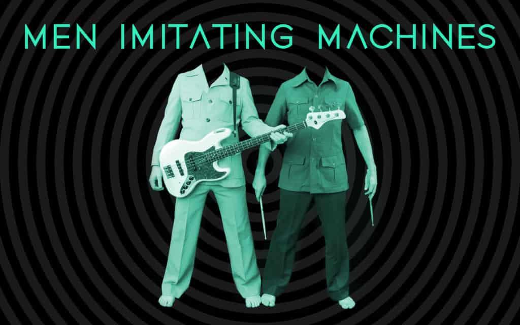 Men Imitating Machines