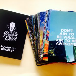 Power Up Deck, Reality Check, Holistic Business Coach